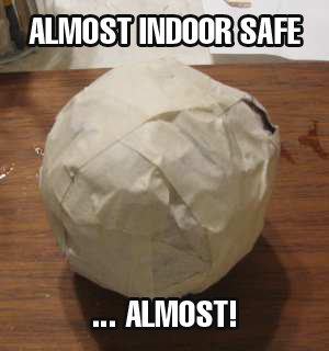 Almost indoor safe