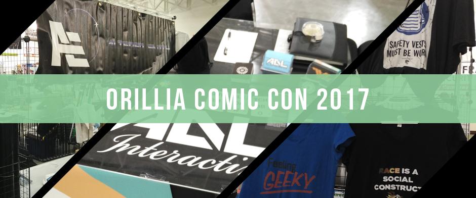 Orillia Comic Con 2017