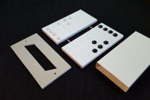 StormGate board, sleave and pocket for stones