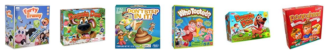 Weird, gross games